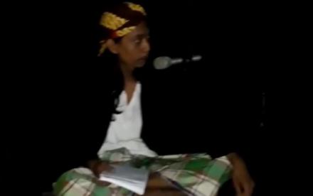 REFELEKSI HARI PAHLAWAN, MAHASISWA UNRIKA GELAR PENTAS SENI
